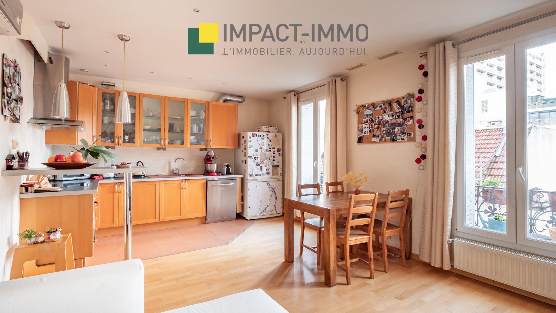 A Vendre Appartement 3p. 48m² - Hotel de Ville