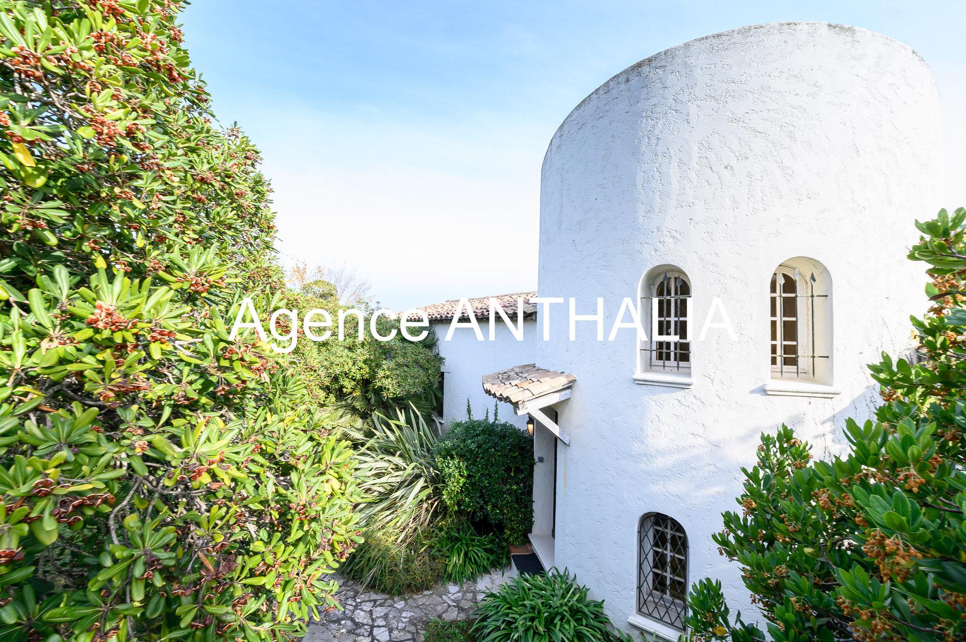 Maison -vue mer - Antibes - Rastines