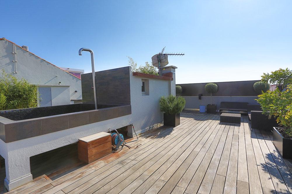 A vendre - Superbe toit terrasse rue d'Antibes à Cannes