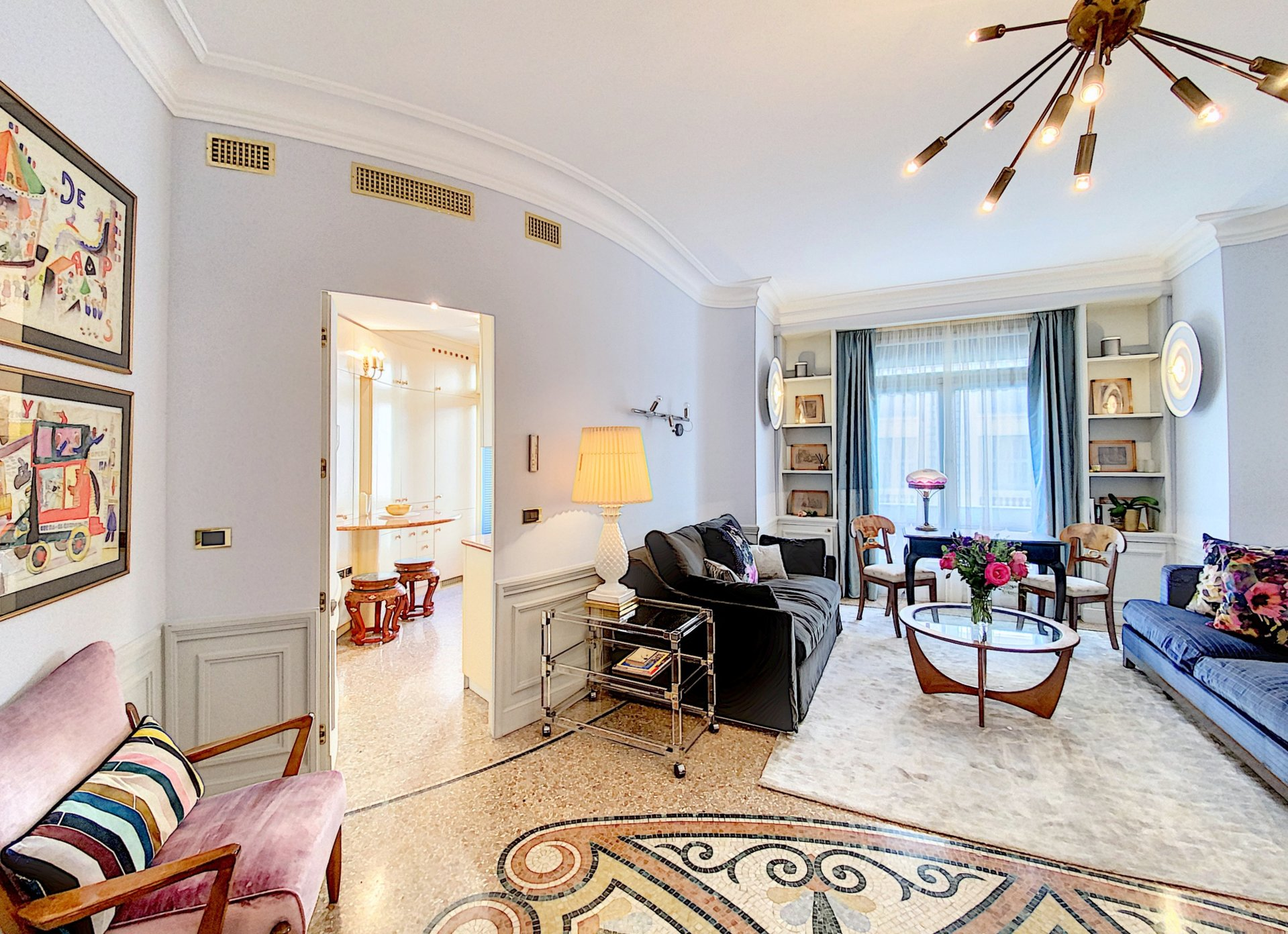 RENTING - Apartment 2 Room Nice Carré d'Or - Negresco