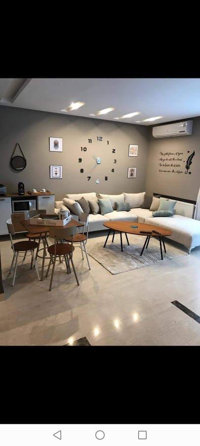 Un Appartement S+1 haut standing meublé à louer aux jardins de carthage