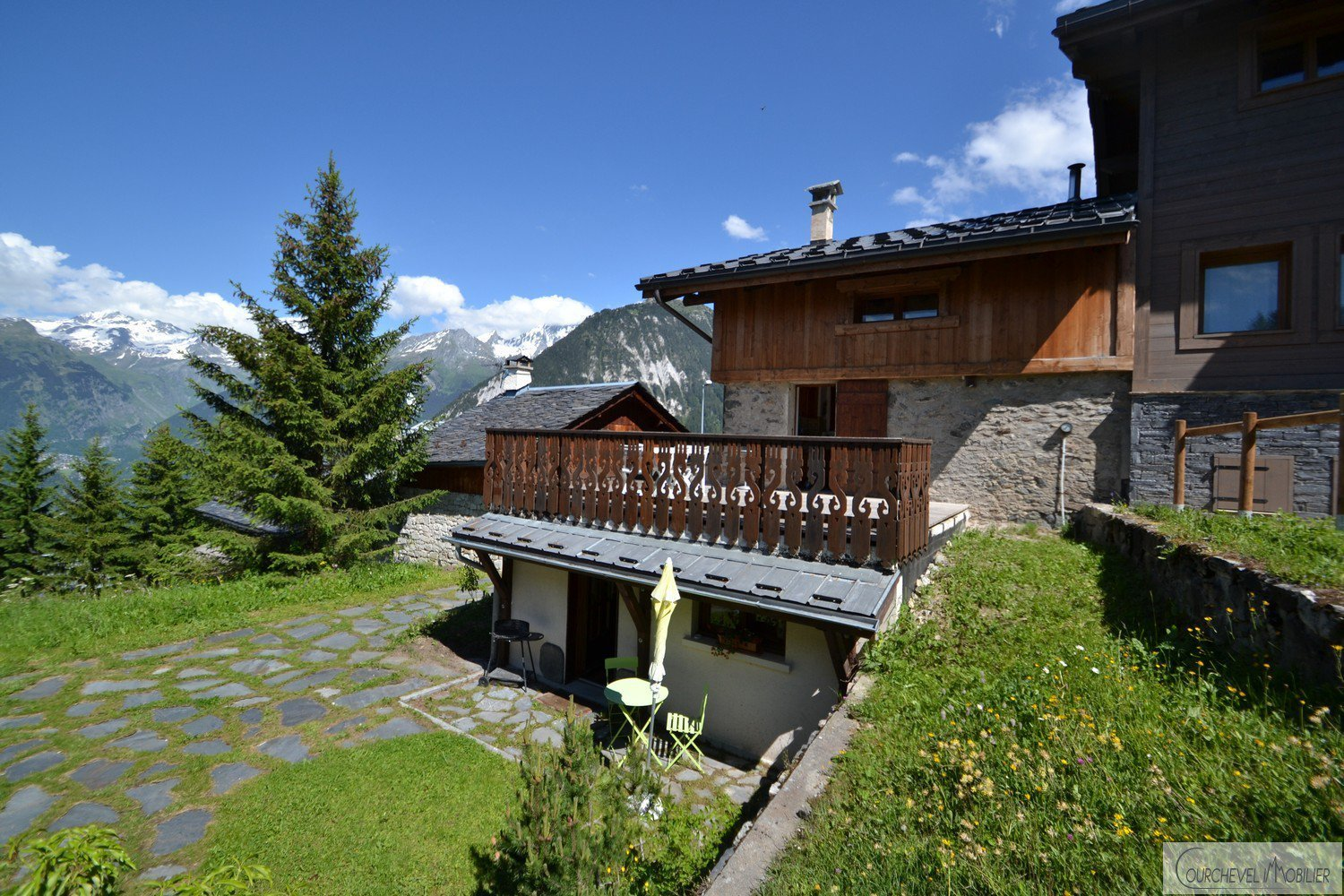 Huur Chalet - Courchevel Village 1550