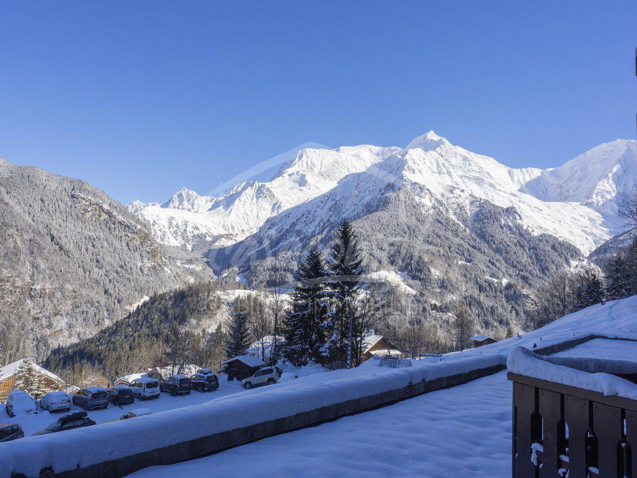St Gervais/St Nicolas – fantastic view and close to the slopes