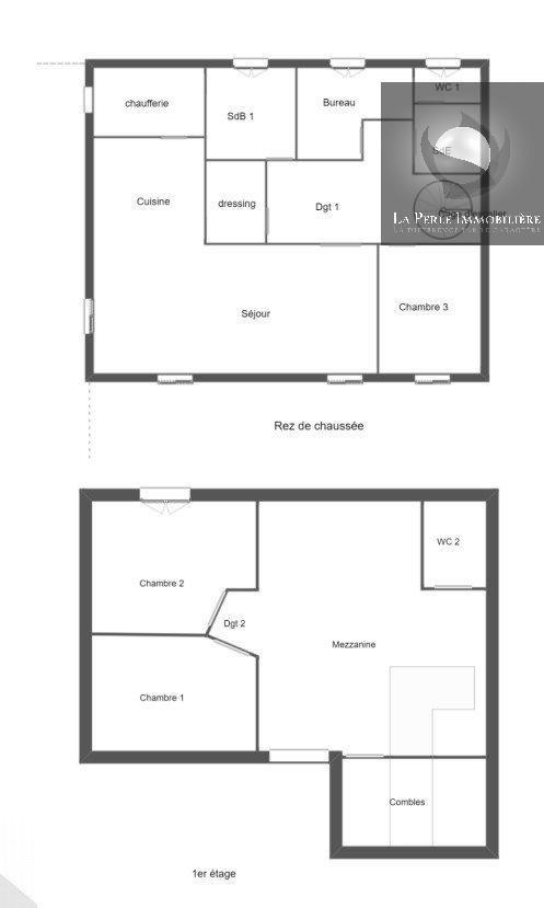 Plans RDC et Etage