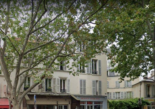 Paris - XIV ème - SQUARE FERDINAND BRUNOT - M• Gaîté - STUDIO À RAFRAÎCHIR - DERNIER ÉTAGE - TRAVERSANT - EXCELLENT AGENCEMENT