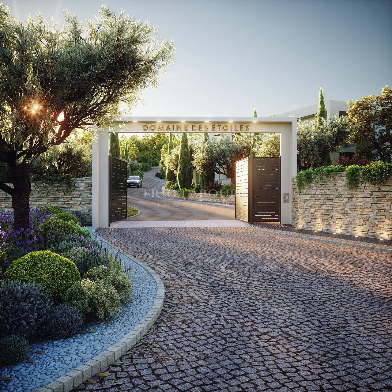 Mougins Residence Constellation - Vente Appartement NEUF Rez de jaridn 4p + 170m2 de jardin privatif
