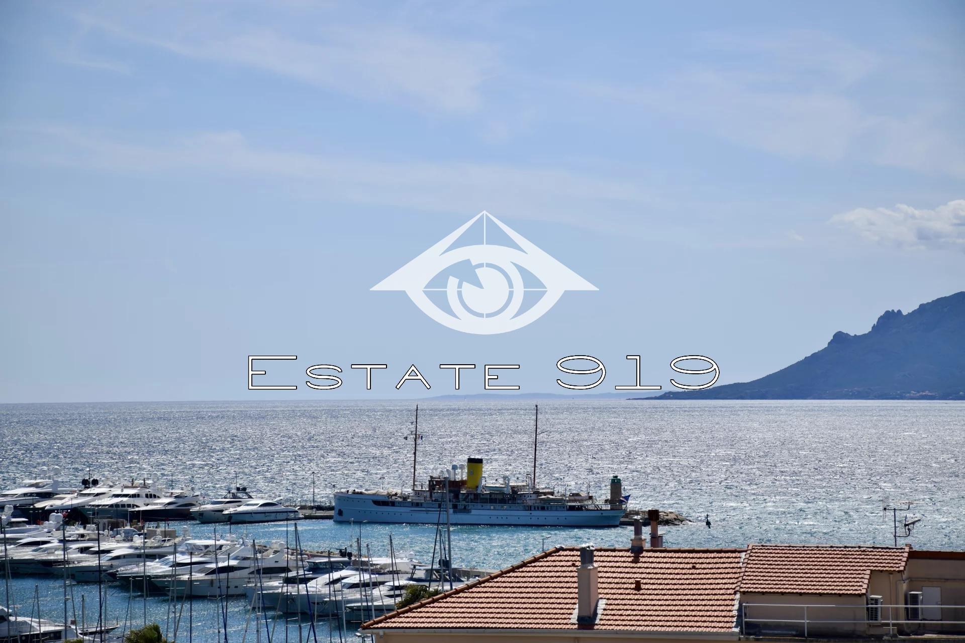 Exclusivité Magnifique 3 pièces avec vue Port Canto