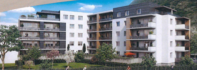 T3 avec 2 balcons + garage dans résidence récente