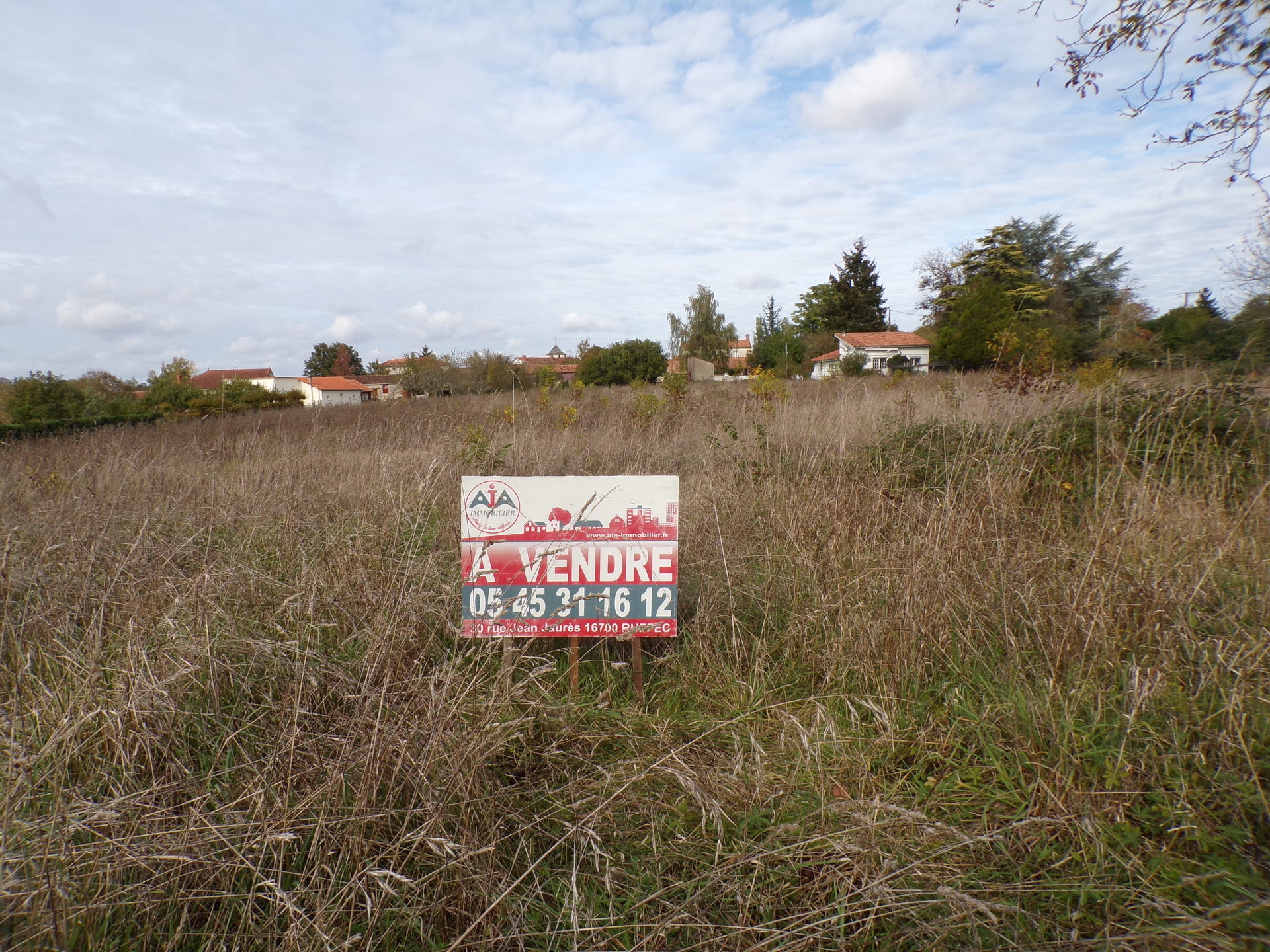 Sale Building land - Aunac