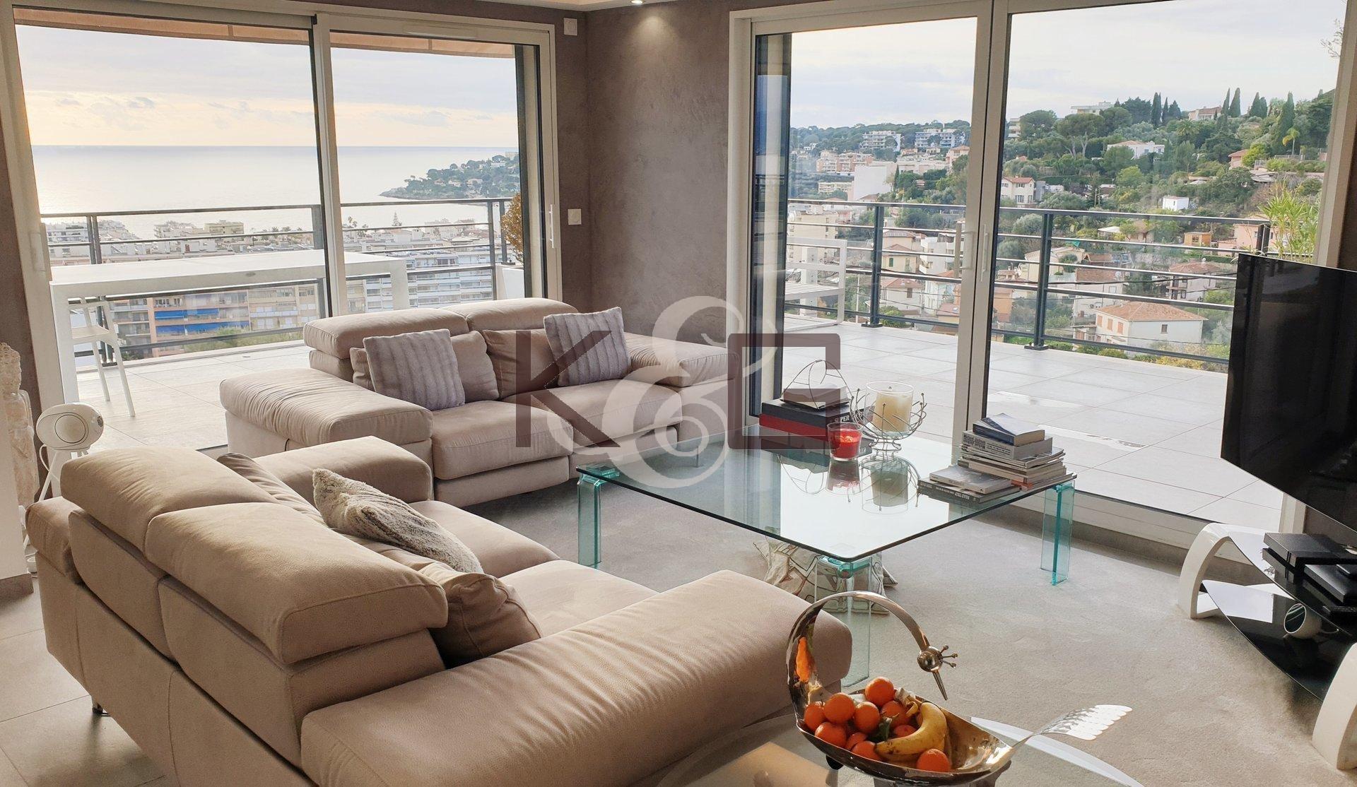 Penthouse à vendre à Roquebrune-Cap-Martin proche Monaco
