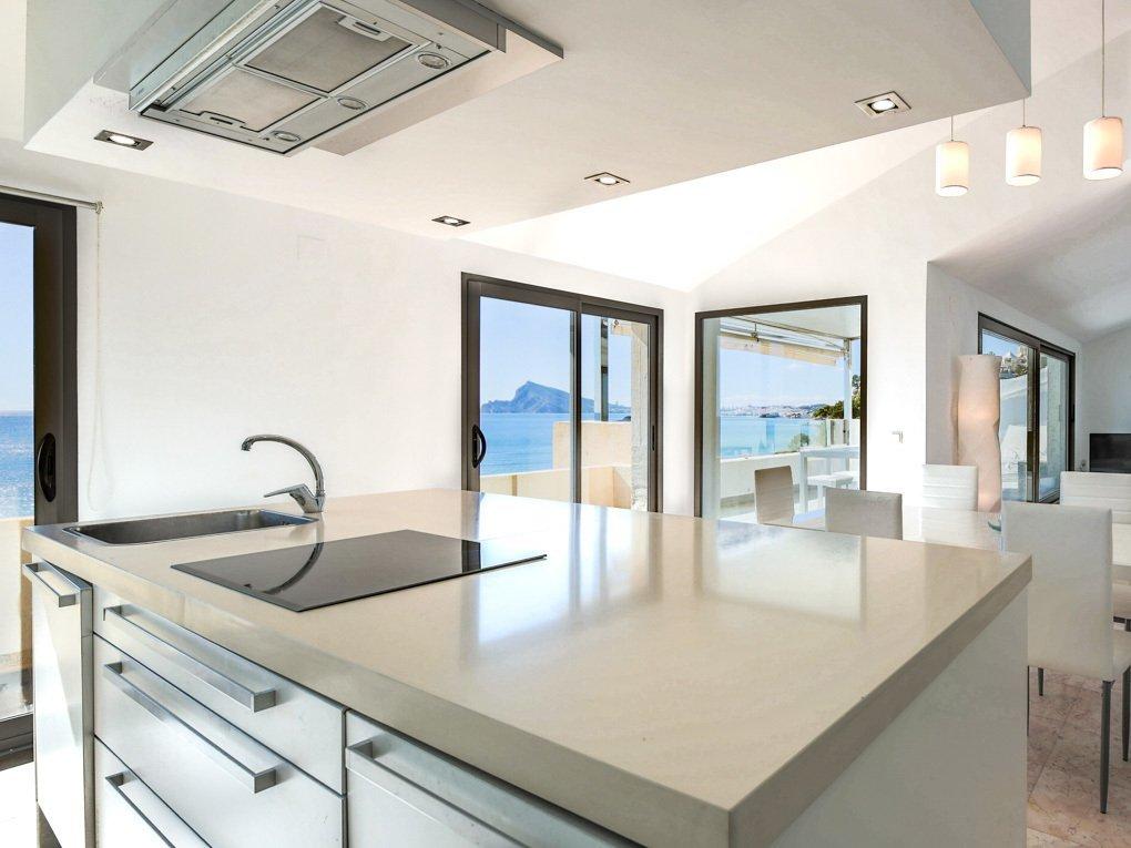Penthouse moderne avec une vue mer magique