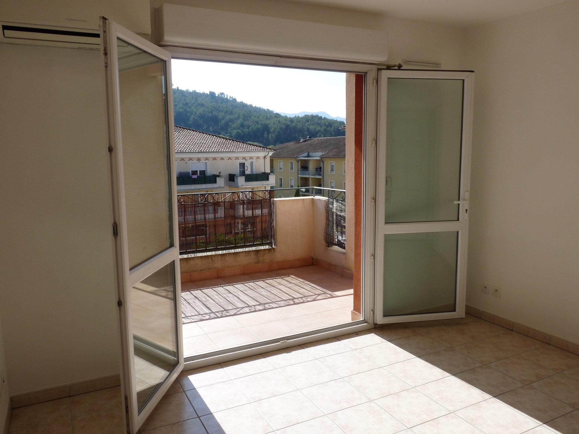 Appartement type 2, 43.50 m², une chambre, place privatif
