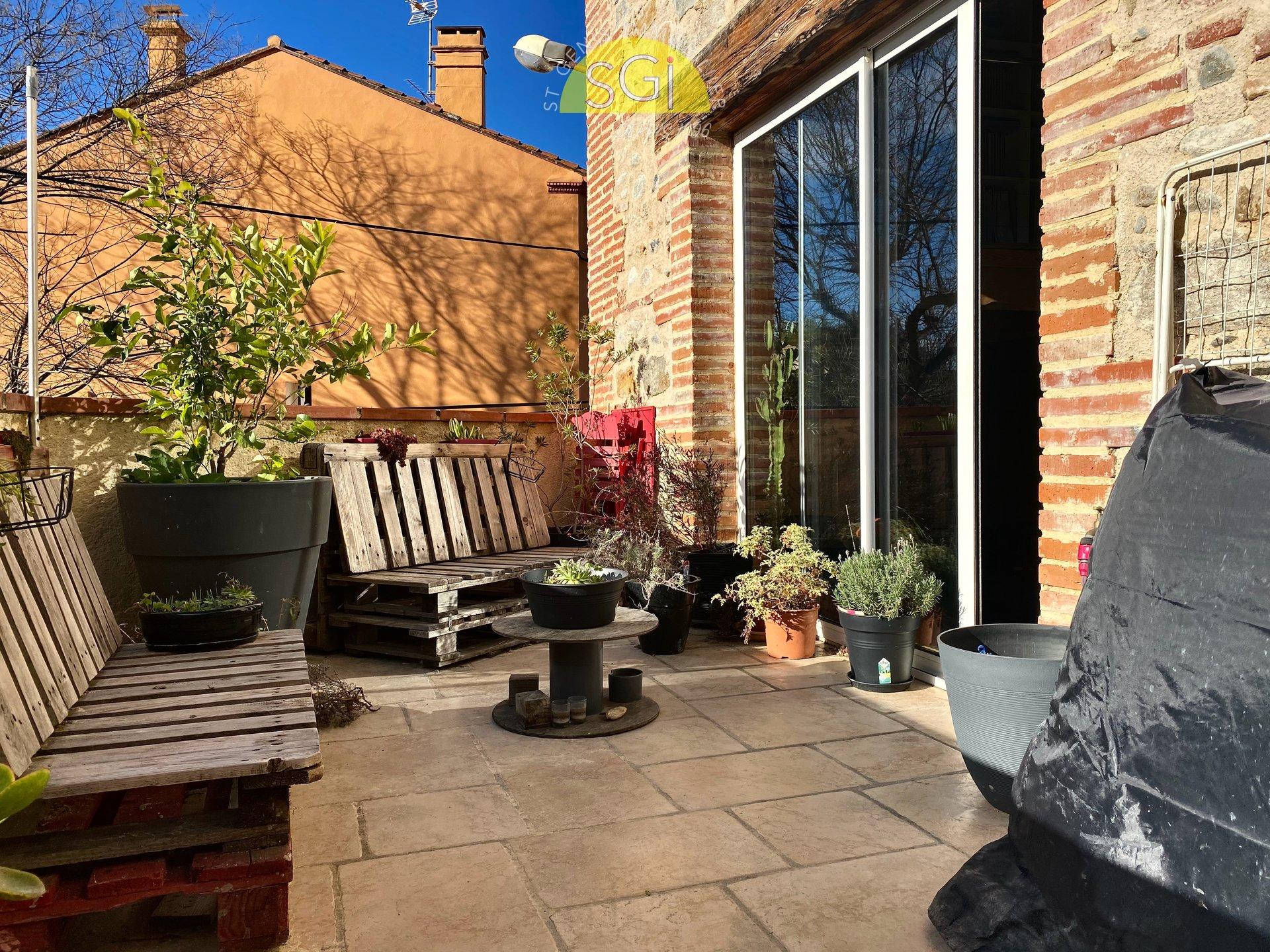 Appartement avec terrasse à Bages