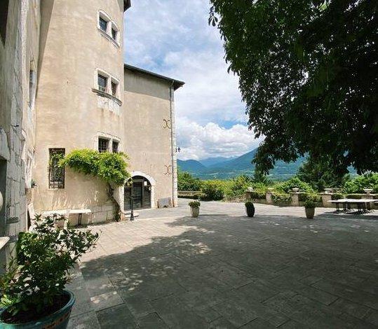 15th century castle in the Grésivaudan valley