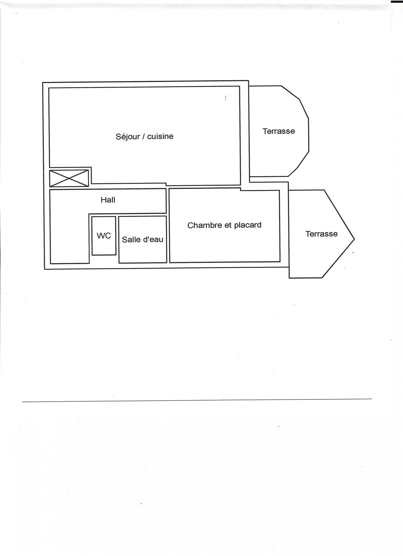 2-roms leilighet med panoramautsikt over havet