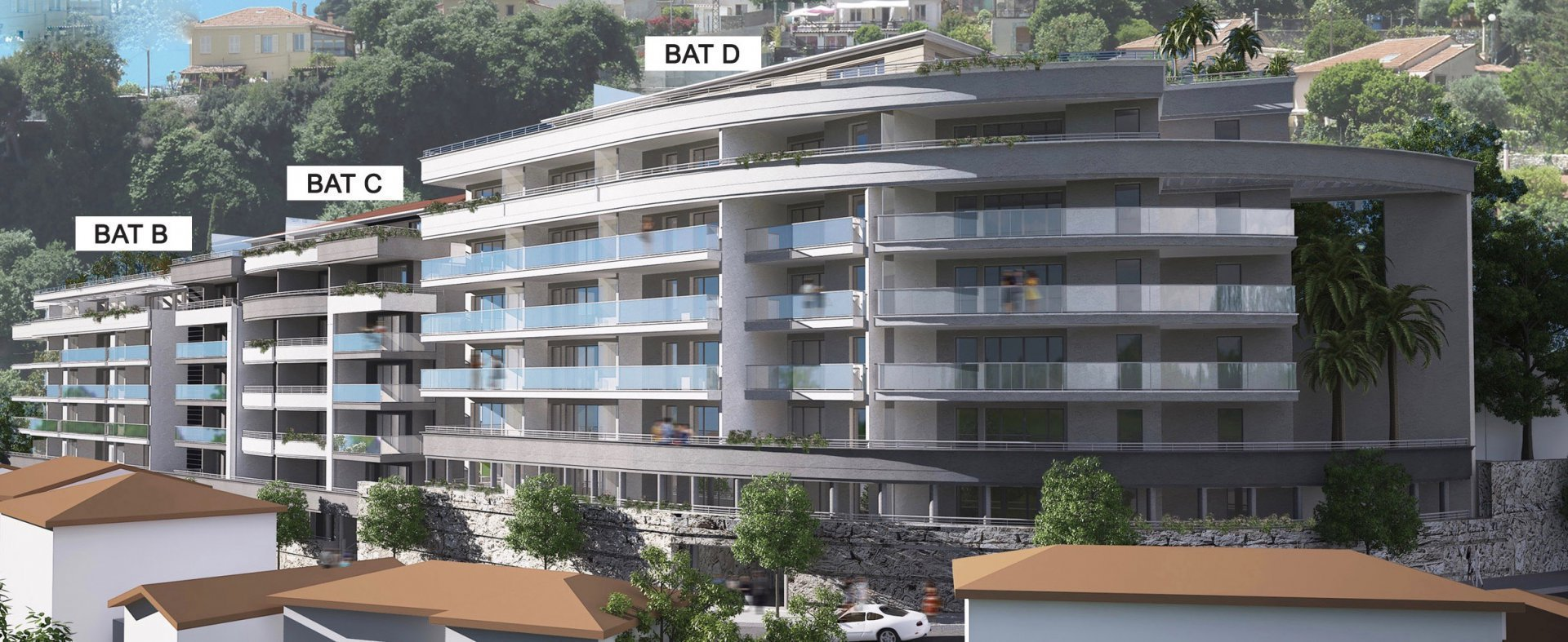 BEAUSOLEIL - French Riviera - Penthouse with sea view and large terrace