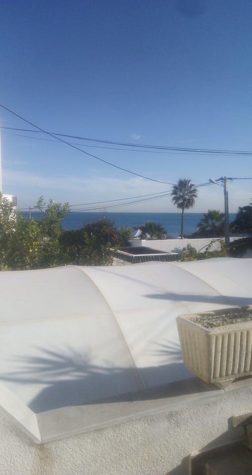 A louer un loft semi meublé à La Marsa Corniche