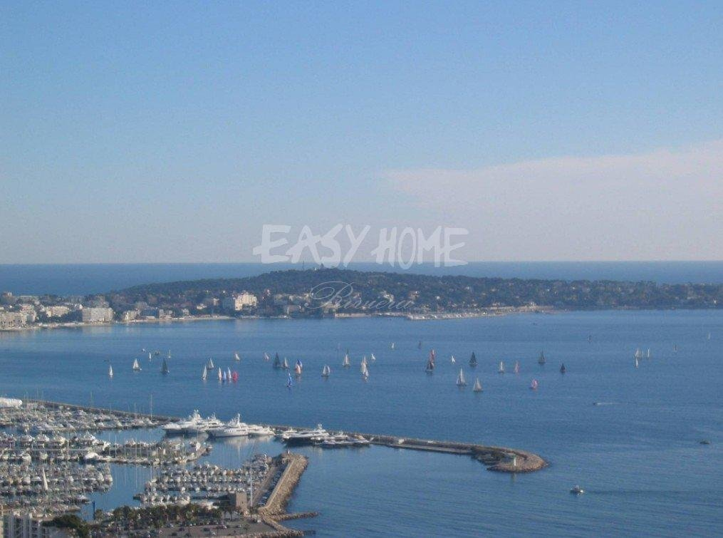 Purchase / Sale plot of land Super Cannes Vallauris - Sea view