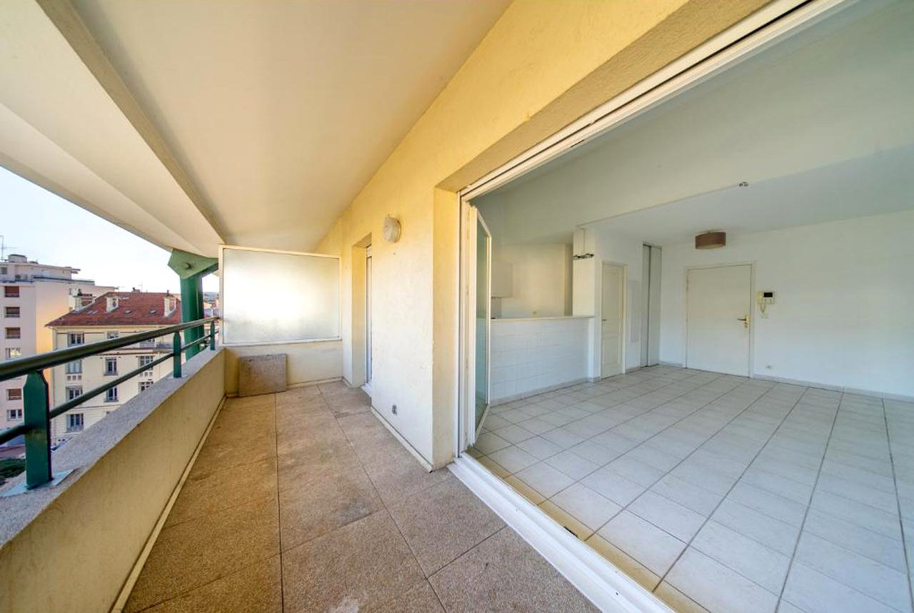 3-rumslägenhet med terrass - Cannes Centre Ville