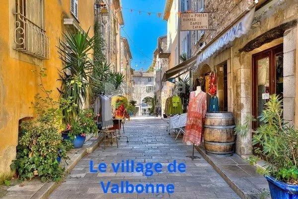 Valbonne village