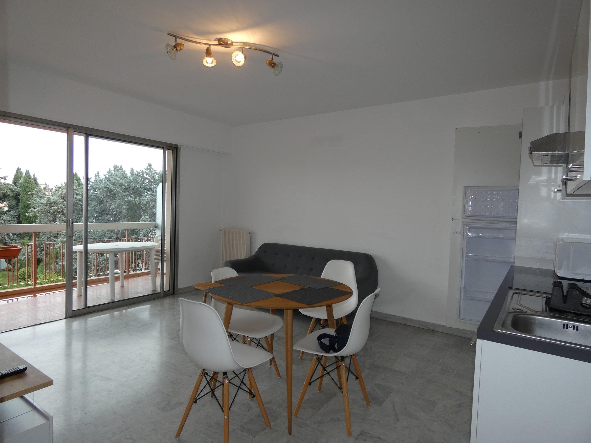 Appartement Meublé Antibes Jules Grec 2 pièces 37m2 + terrasse