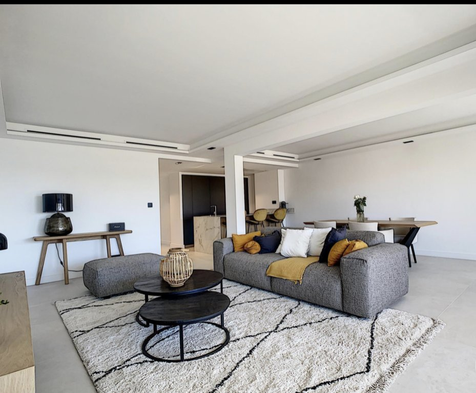 Cannes Palm Beach top floor panoramic view 4P 128 m2 terrace 60 m2