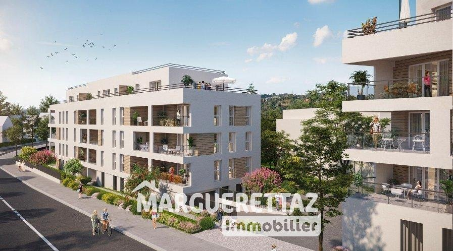 T3 NEUF avec balcon de 9.57m²