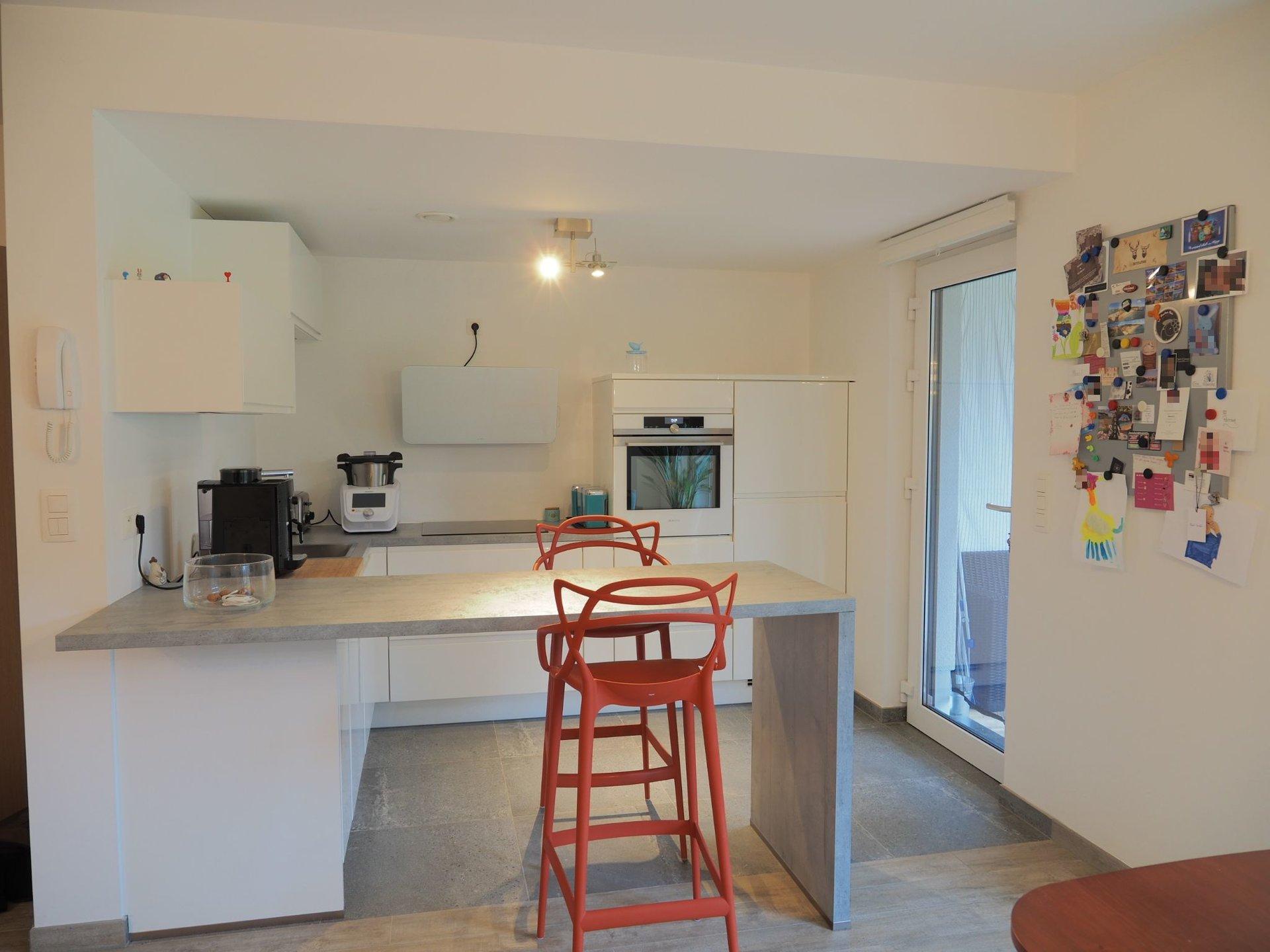 +++VENDU+++Appartement 2 chambres au rez avec garage, terrasse et jardin