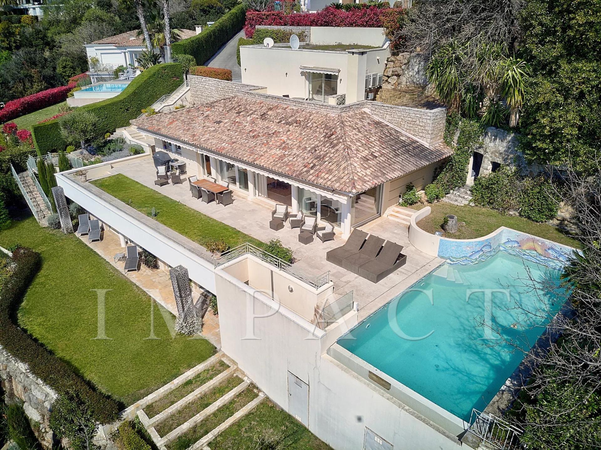 villa piscine et spa Cannes