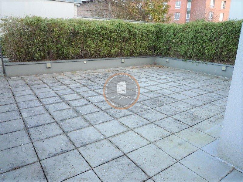APPARTEMENT AVEC TERRASSE ET PARKING – 51m2 - 2 pièces – Amiens