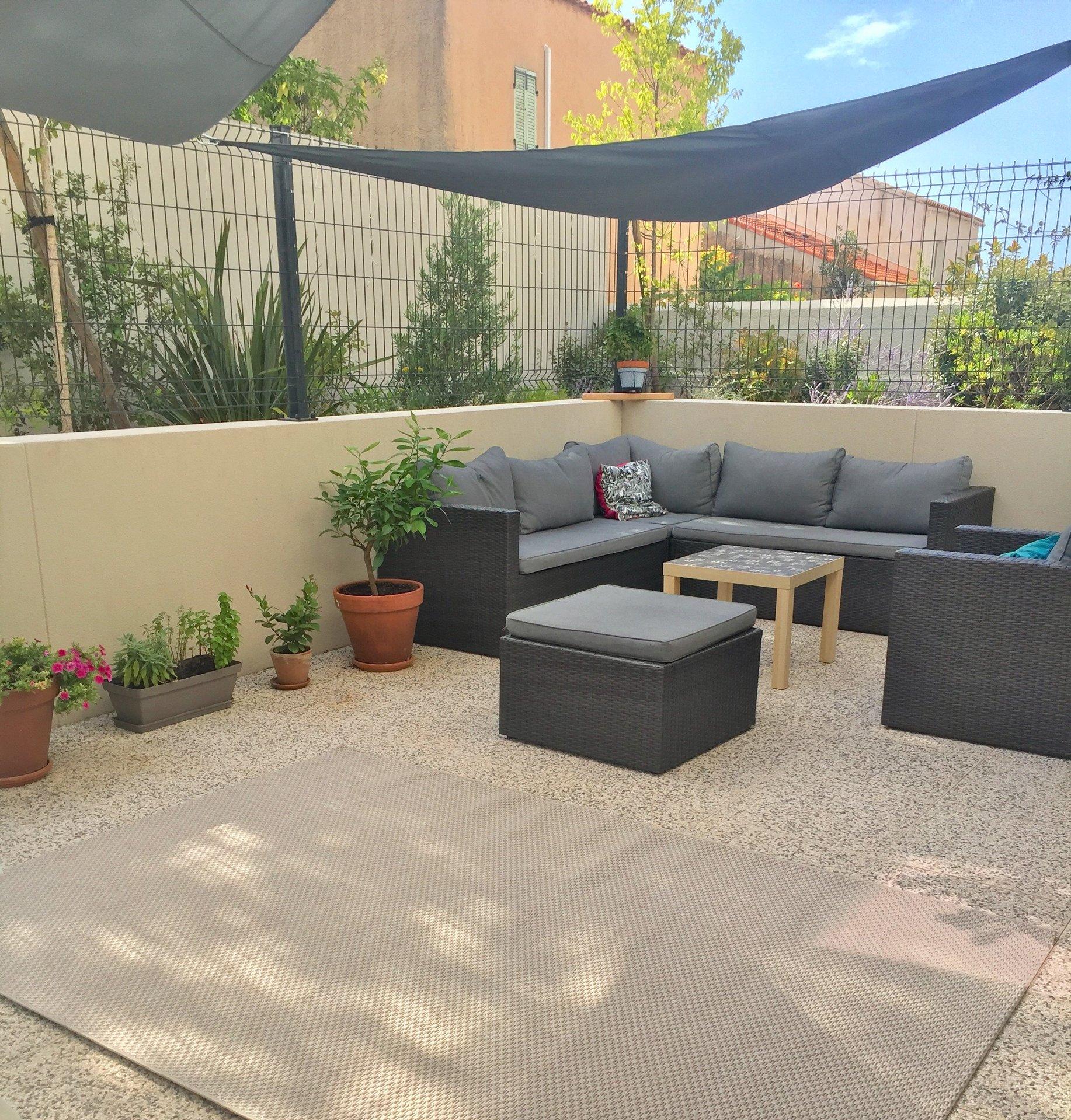 Mazargues - Beau rez-de-jardin