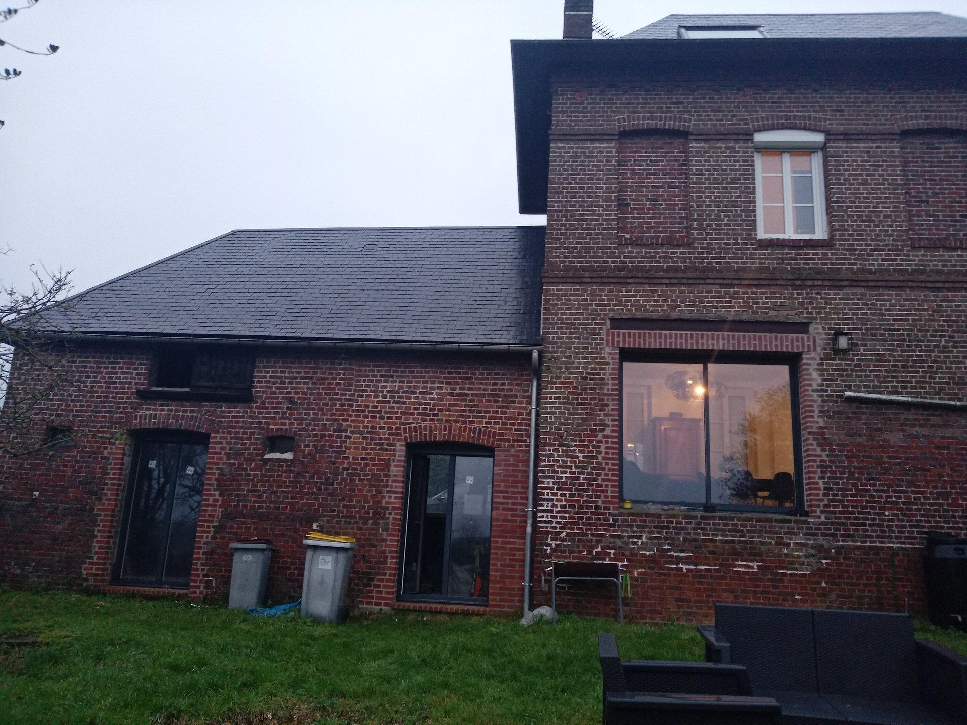 Belle maison ancienne rénovée avec vue dégagée