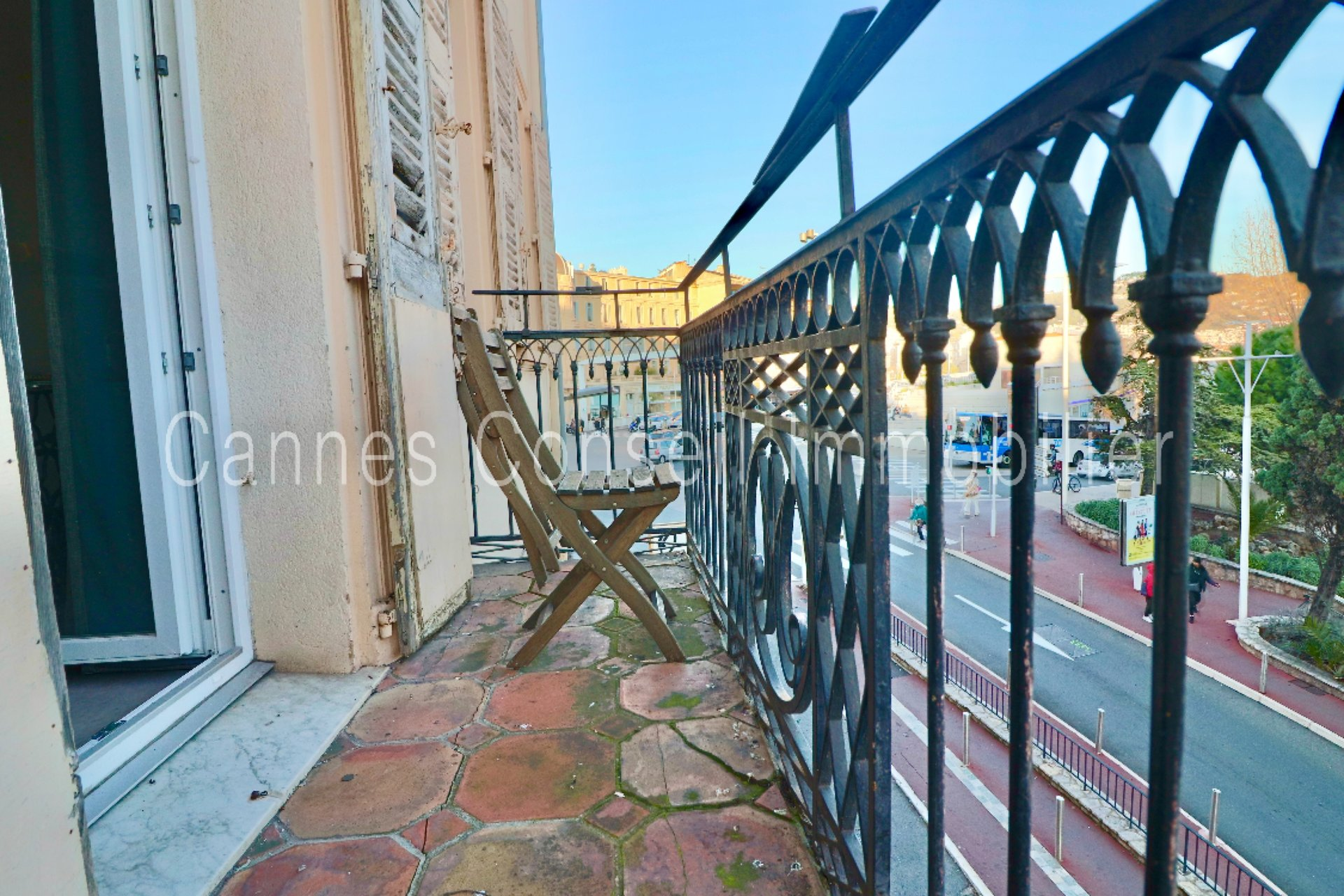 Cannes Centre - 2P Balcon