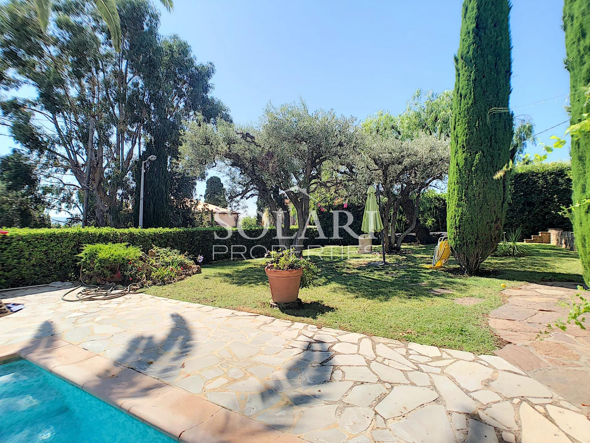 Villa with pool and sea view in Theoule Le Trayas