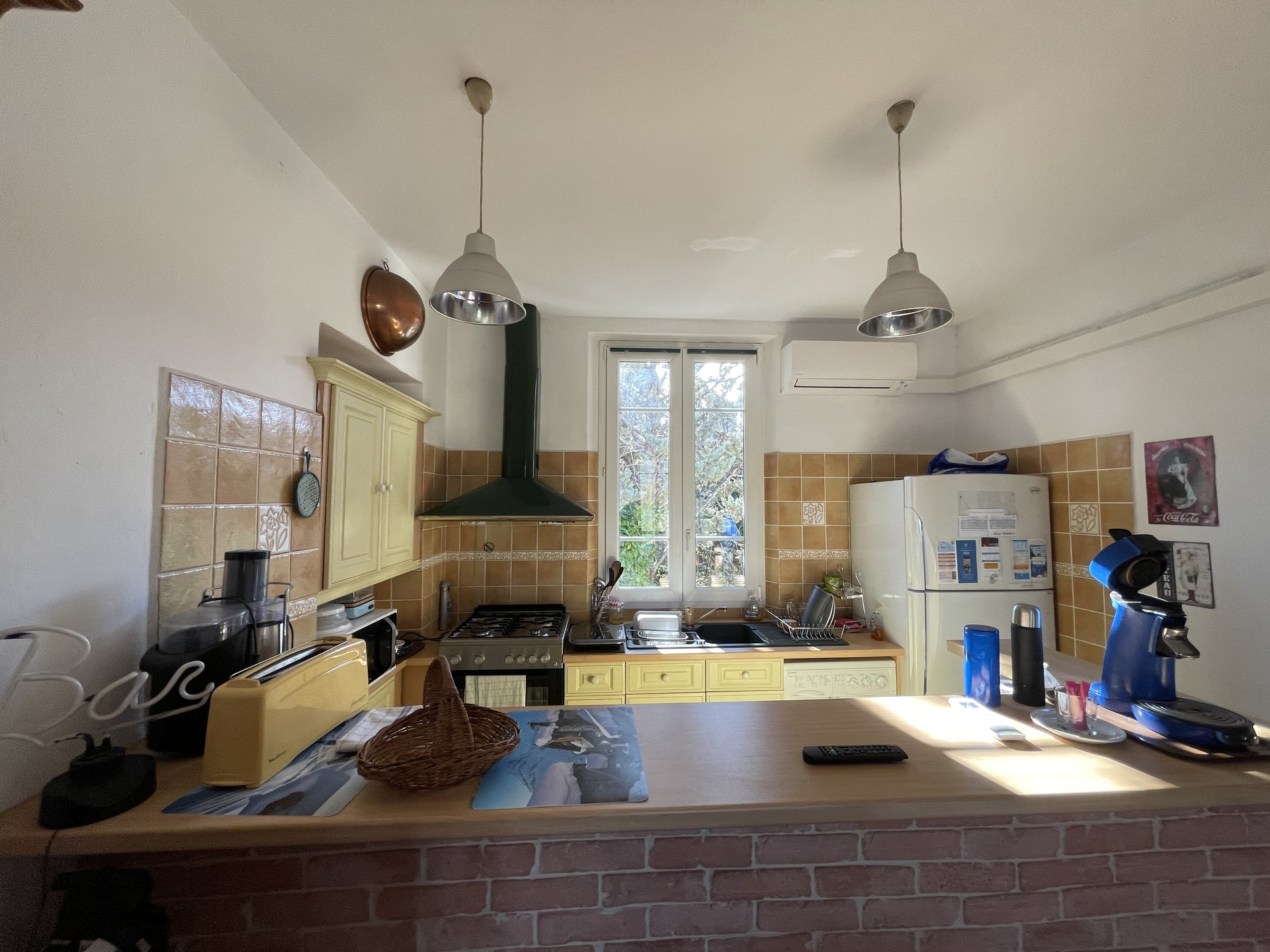 3 værelses lejlighed med udsigt over Estérel og smuk havudsigt