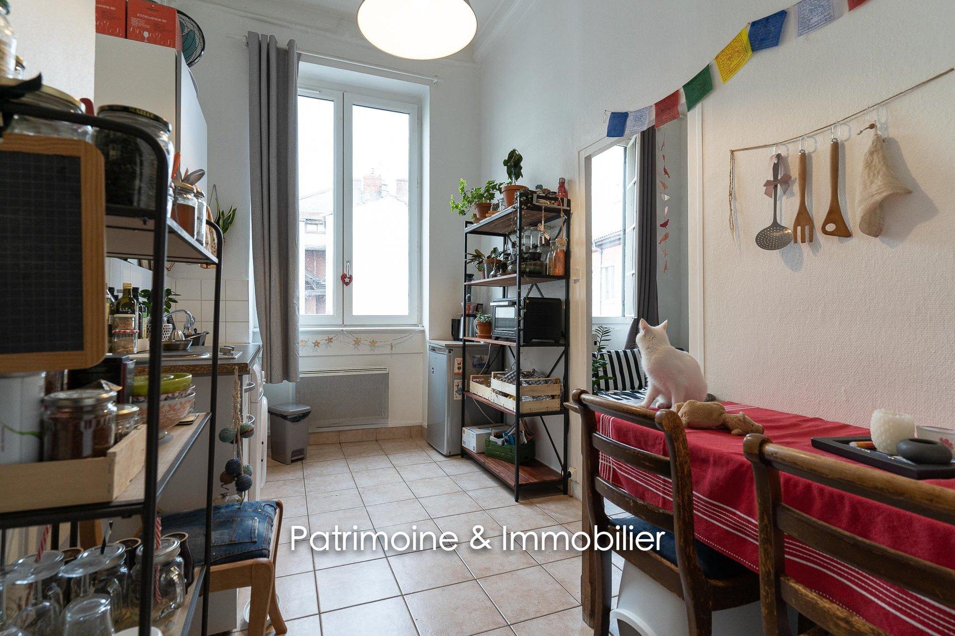 Lyon 4 - Plateau Croix Rousse T1 Bis 29 m2