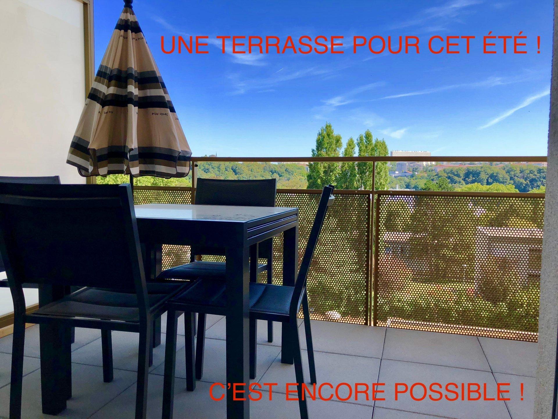 T2 Saint-Rambert Terrasse  + Garage