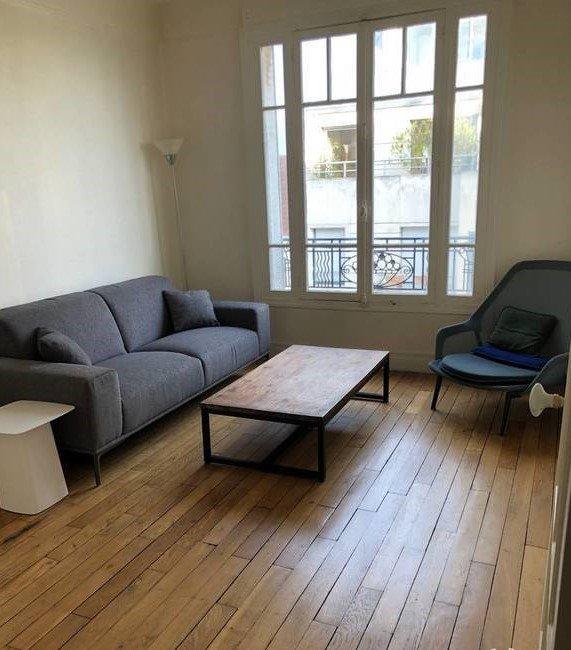 2 pièces meublé 43m² - Rue Rieux