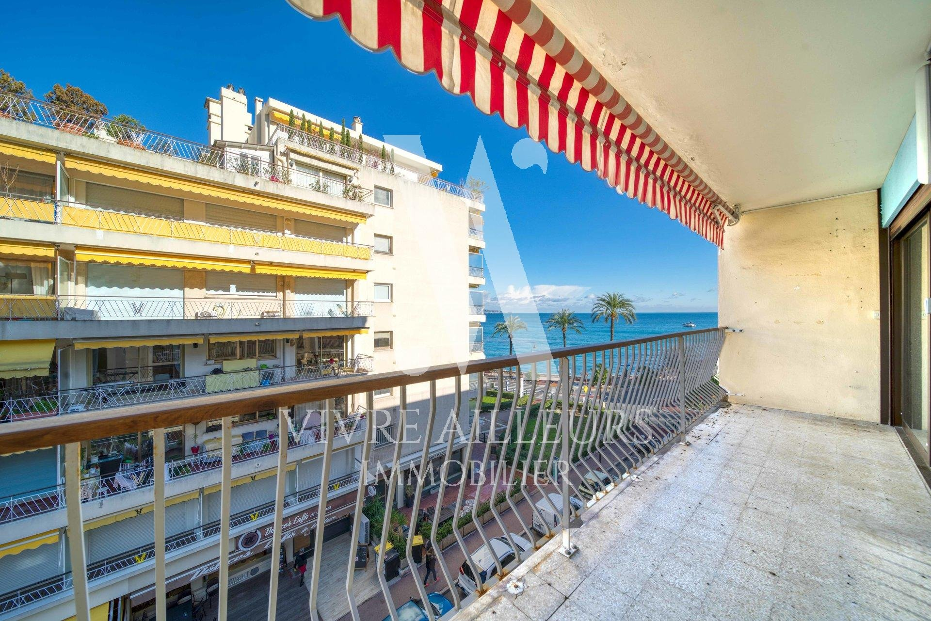 Roquebrune Cap Martin - Beach - 2 rooms terrace - balcony - cellar