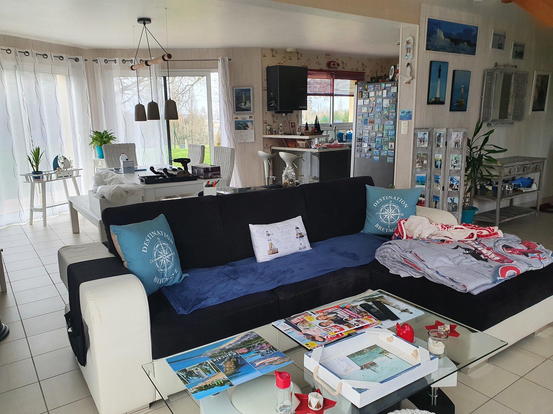 Maison de 107 m² hab- potentiel 2 chs sup