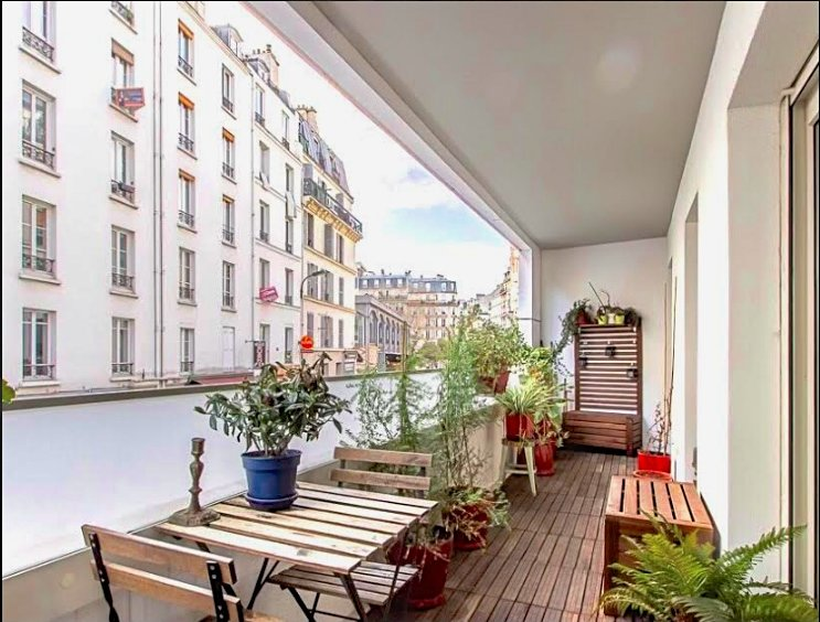 Vente Appartement - Paris 19ème Combat