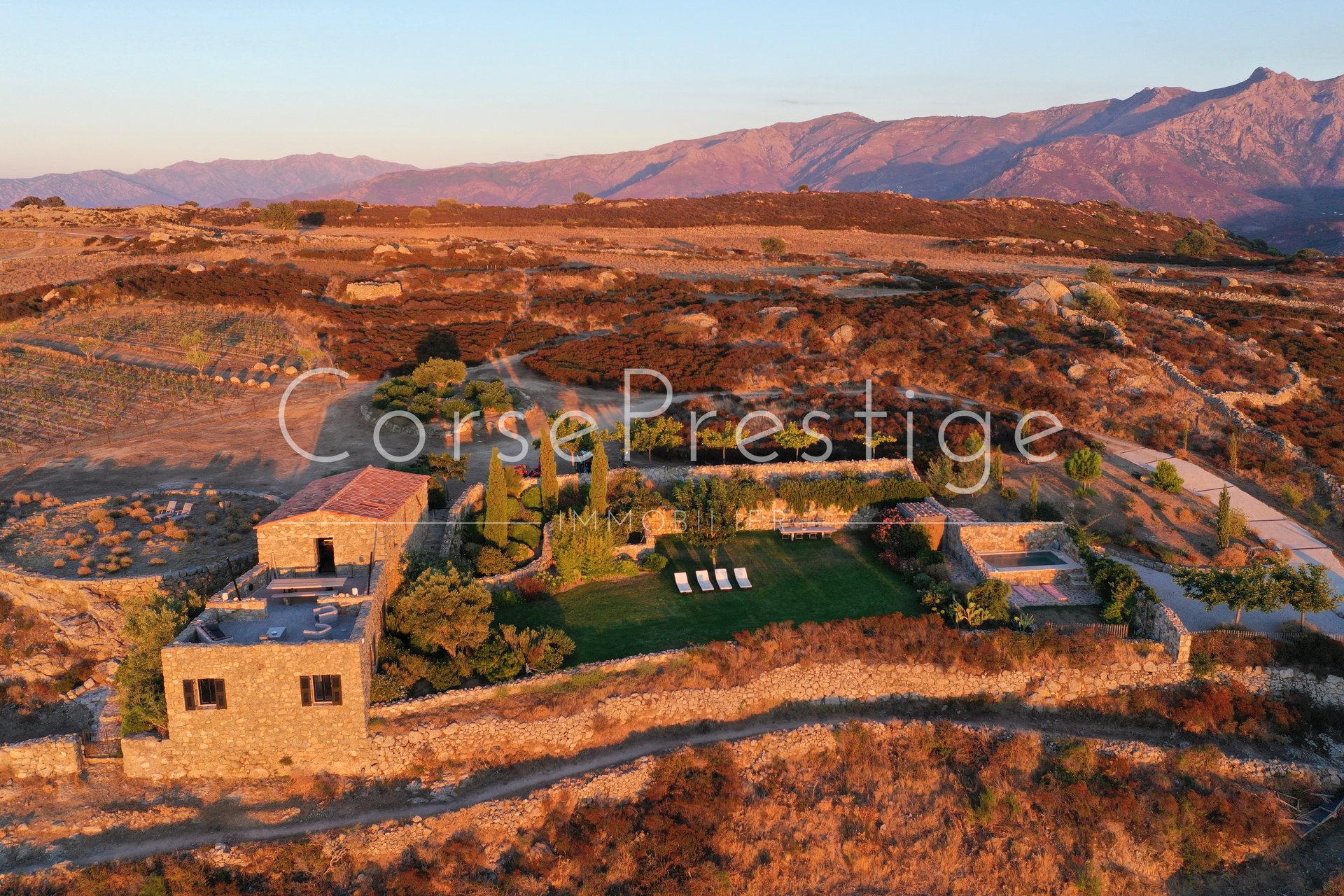 a dream farmhouse for sale in corsica – balagne image1