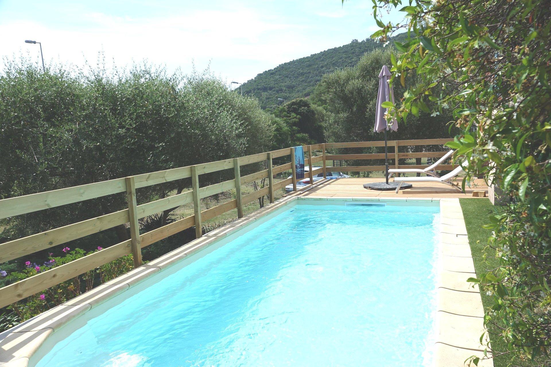 Villa vue mer, 5 000 m² de terrain – Tennis et Piscine à 1 mn à pieds de la Mer à Tarco-Zonza