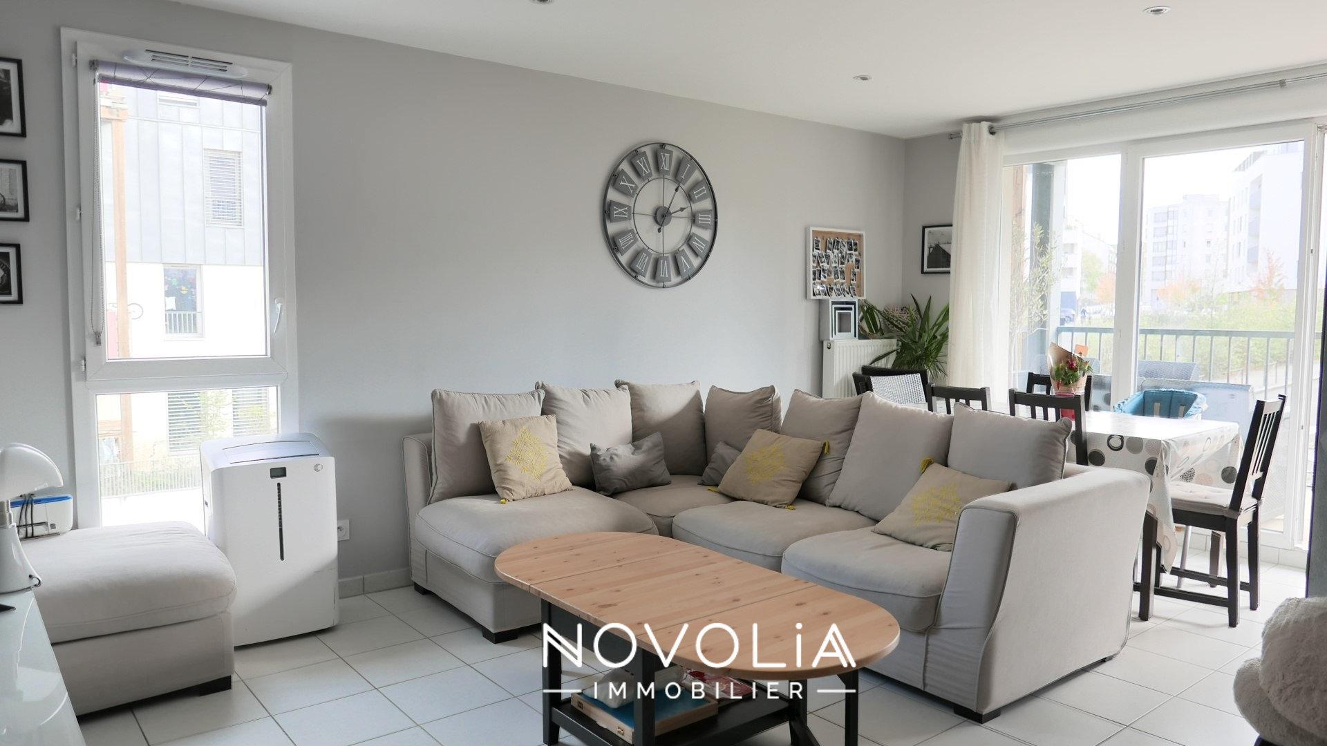 Achat Appartement Surface de 65.48 m²/ Total carrez : 65 m², 3 pièces, Villeurbanne (69100)
