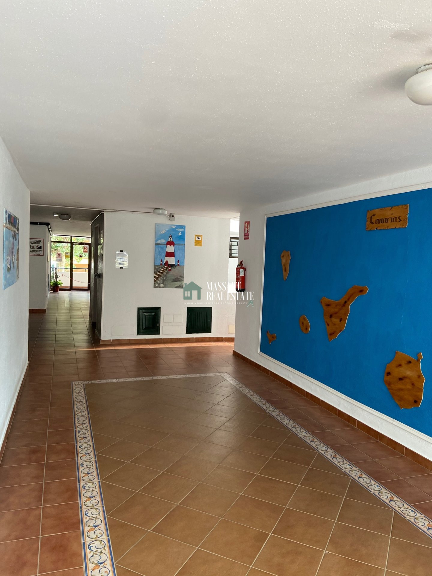 Cozy studio completely renovated in the center of Los Cristianos, in the residential complex Summerland.