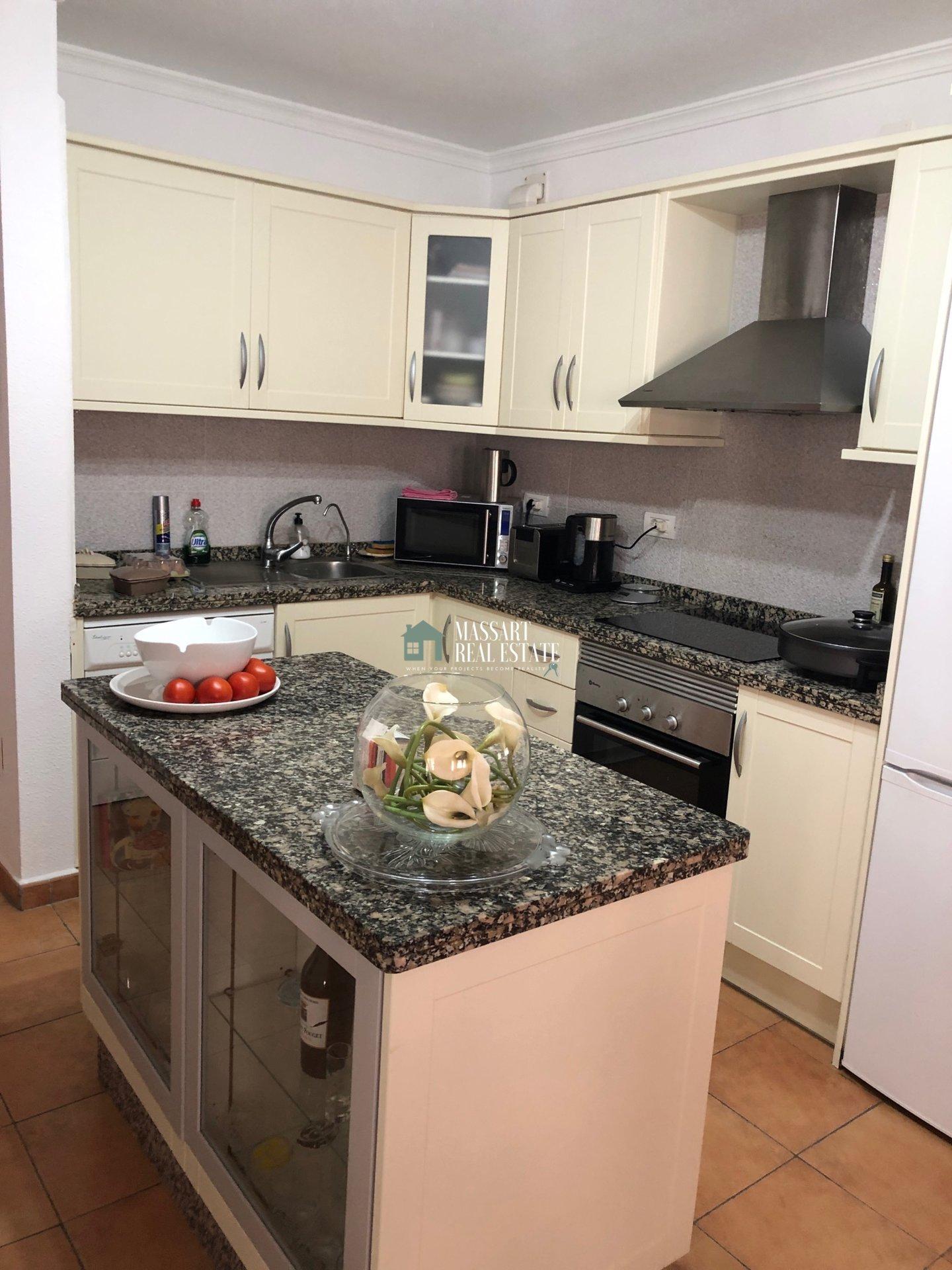 Kücheninsel, Edelstahl