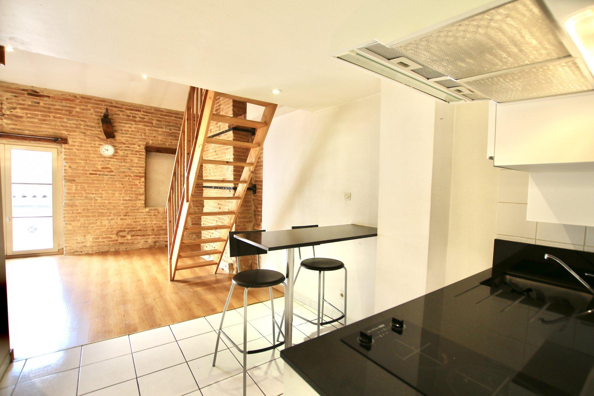 Appartement T1bis de 25m2 - Bourse & Bords de Garonne