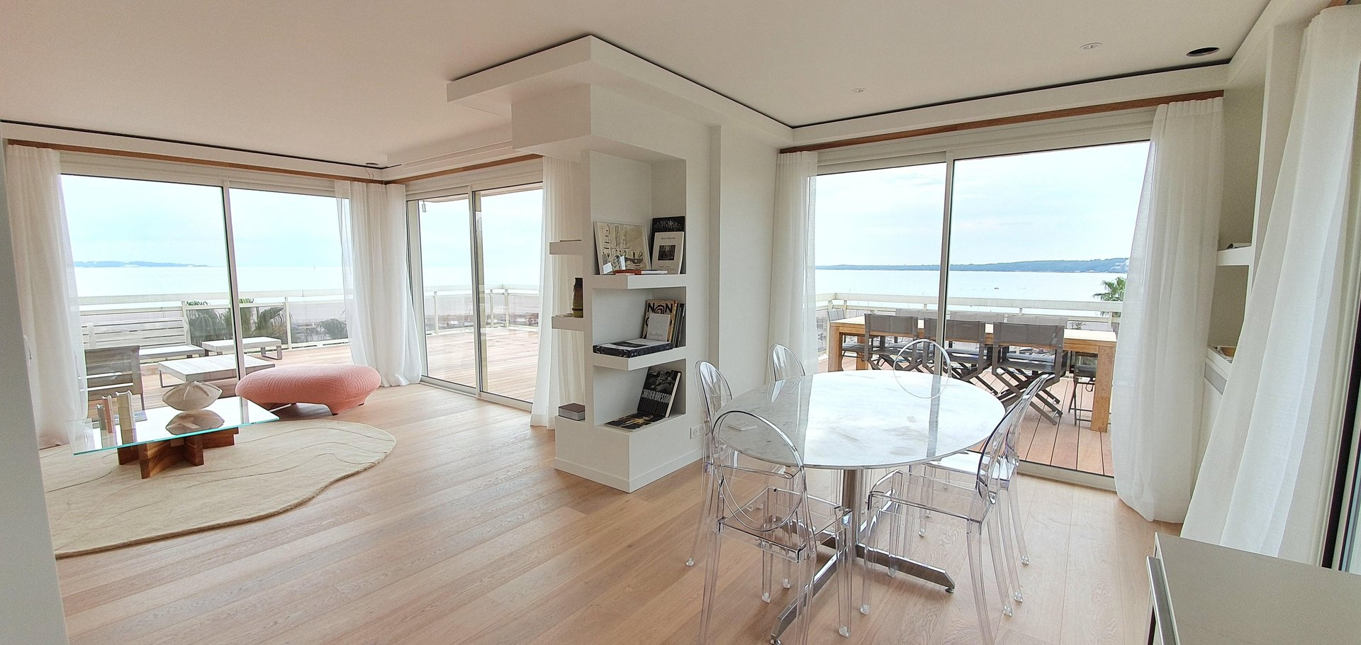 Penthouse sea view 3 bedrooms 91 sqm apartment Terrasse 151 sqm