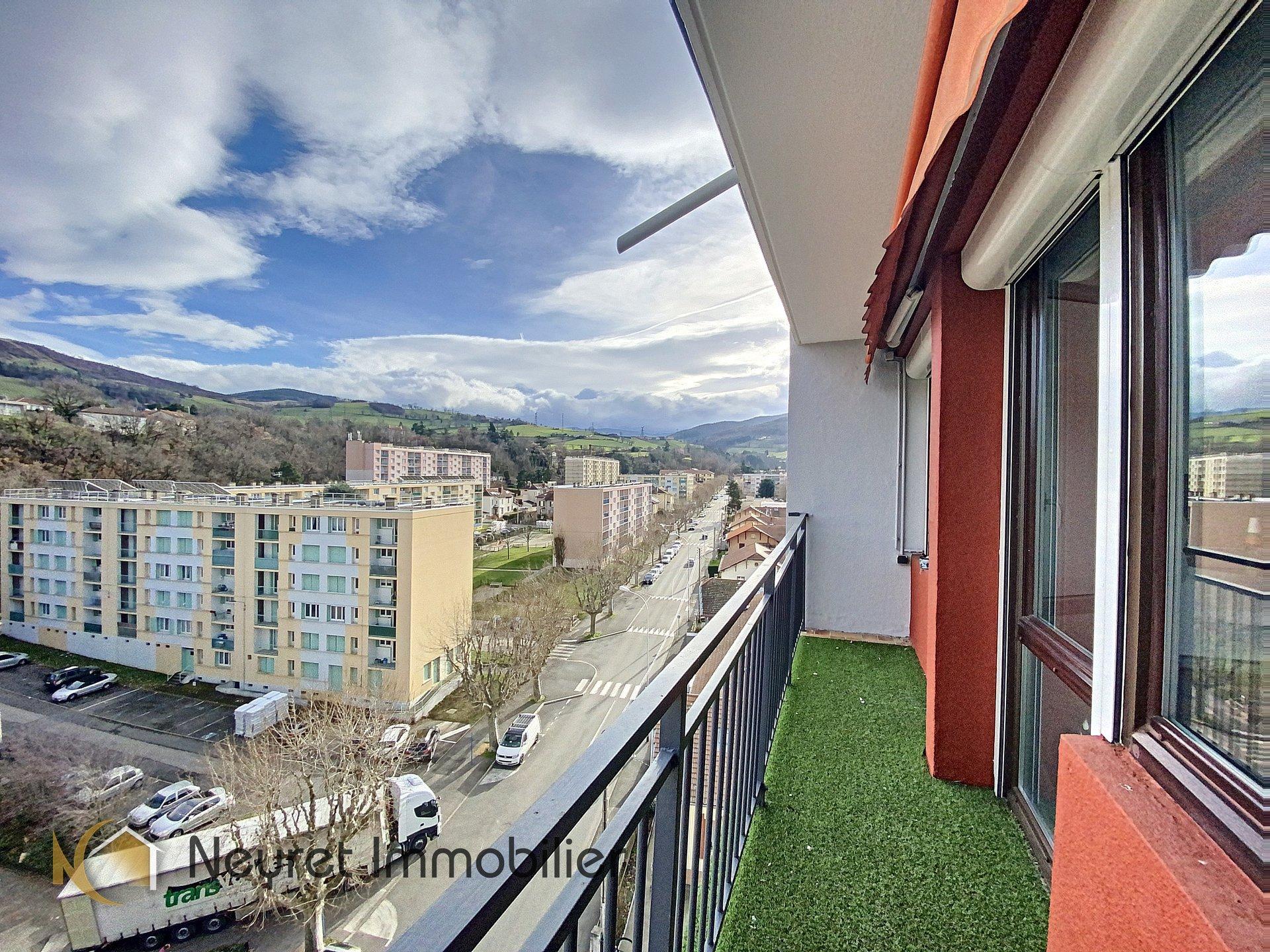 Appartement 66 m² dernier étage résidence Pierre Joannon