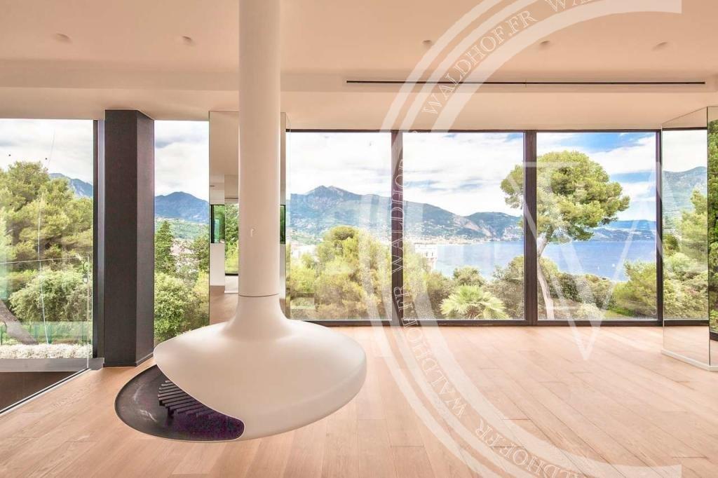 Amazing modern villa in heart of Cap Martin